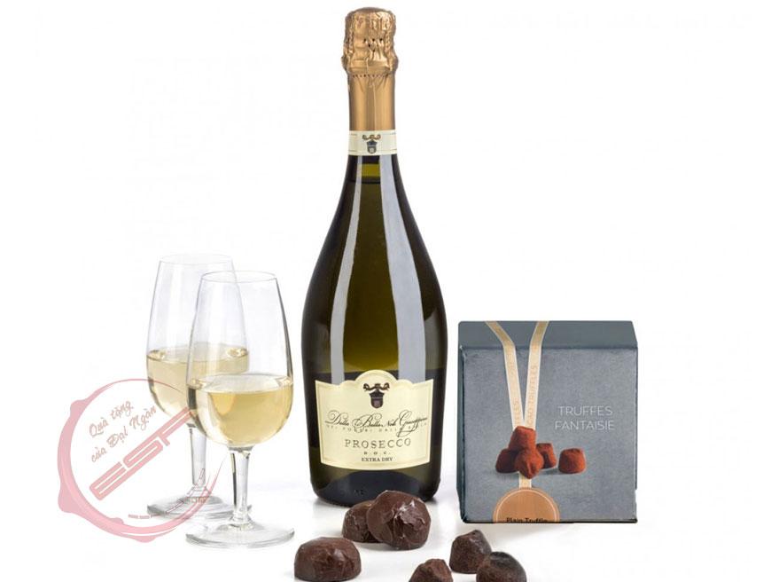 Rượu Prosecco của Ý soán ngôi Champagne Pháp