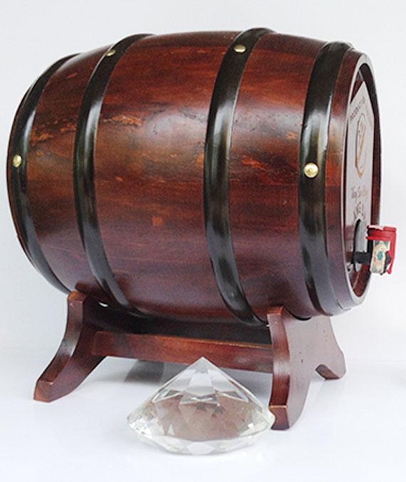 Rượu Vang Sim Rừng Măng Đen Thùng Trống 12%Vol