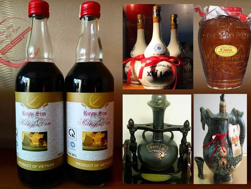 Top 10 đặc sản rượu nổi tiếng Việt Nam