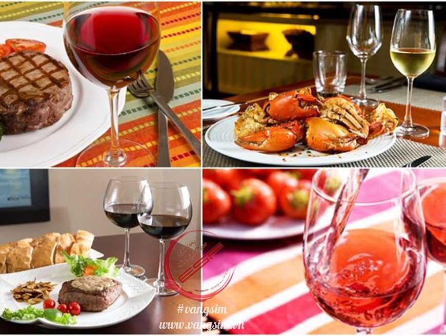 Rượu vang nên ăn chung với món gì cho hợp?